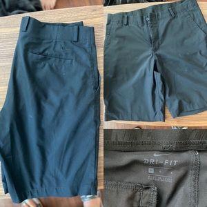 Nike Dri Fit shorts black 34